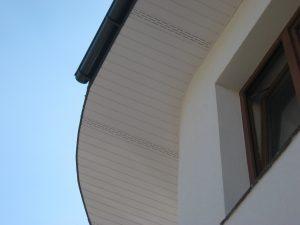 podbitka dachowa pcv - panel profil